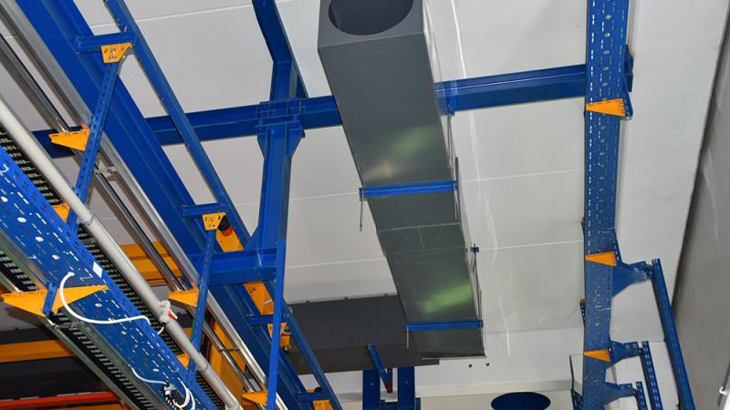 Postavljanje magistralnog odsisnog cijevovoda PVC 600x600mm